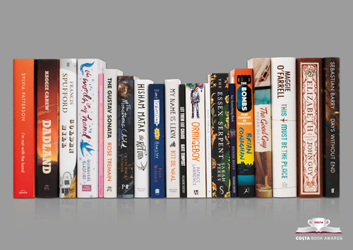 Perk yourself up this January with an incredible book and a hot cup of coffee! We've got 10 sets of all 20 books on the Costa Book Awards shortlist to give away, plus a £10 Costa gift card.