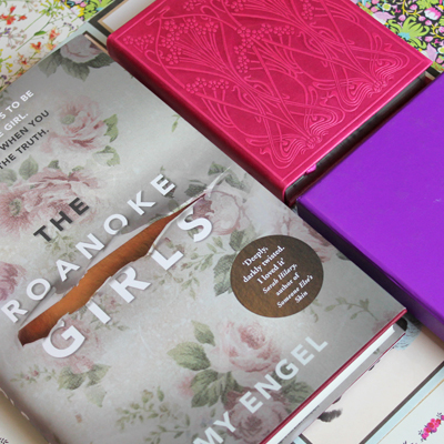 Win a signed copy of The Roanoke Girls and Liberty stationery