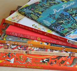Children's Travel Book of the Year shortlist