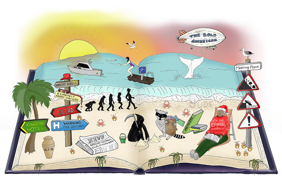 find the book titles with national book tokens hidden books game