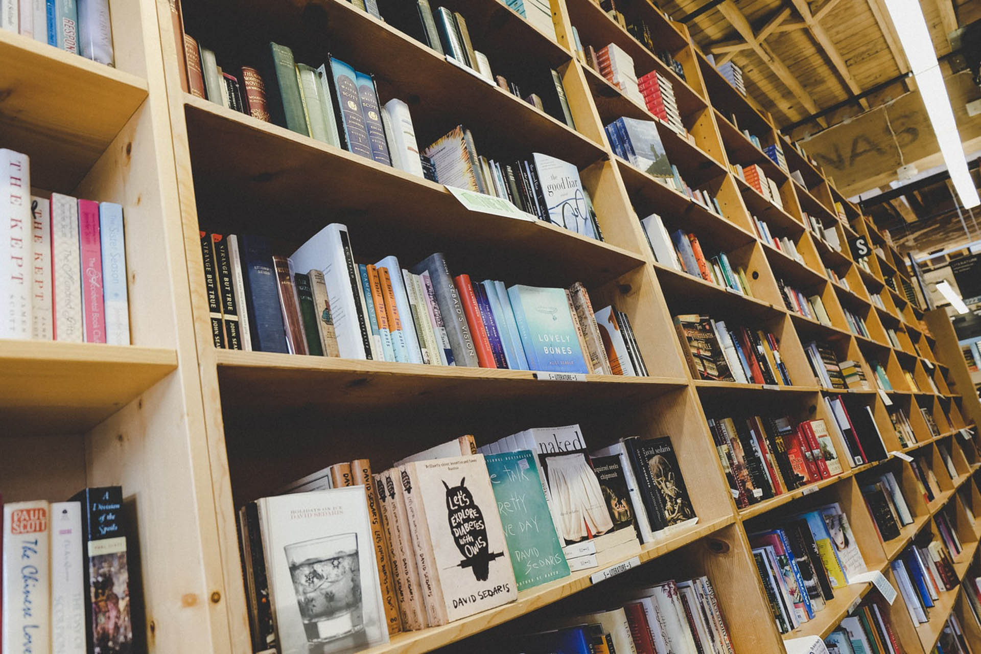 Find out what's going on in a bookshop near you.