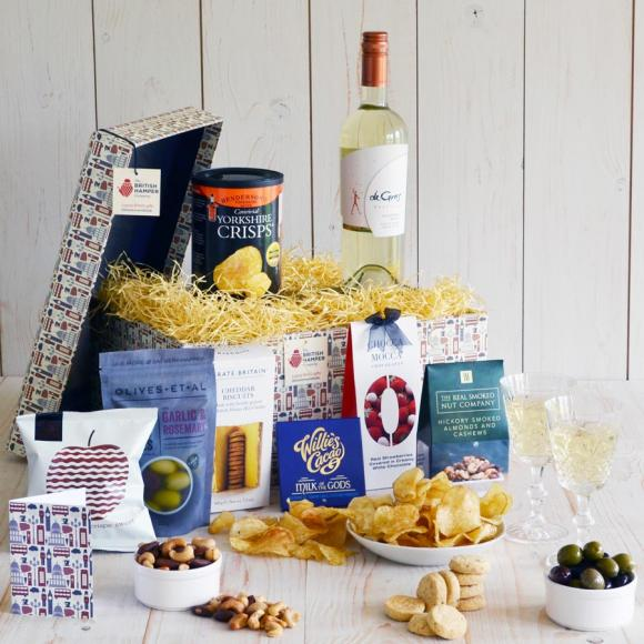 You could win a luxury food and wine hamper