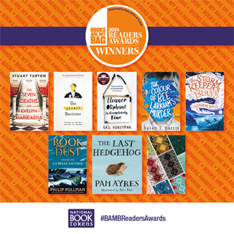 Books Are My Bag Readers Awards 2018 winners