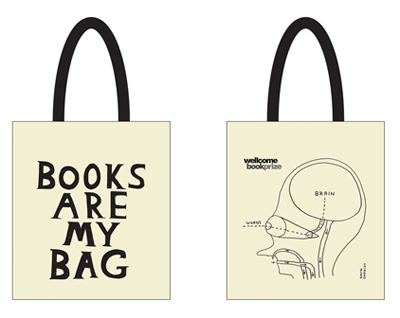Books Are My Bag tote bag