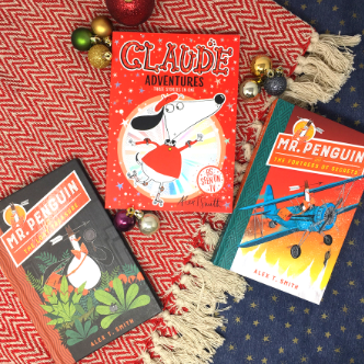 Win a Santa Claude book token