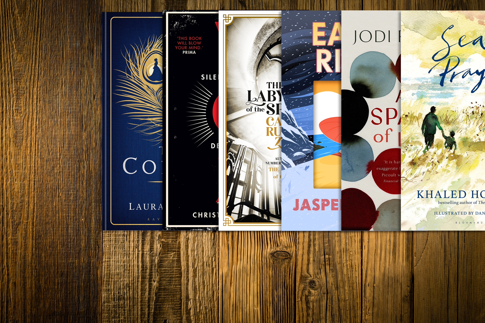 We take you on a journey throughthe newest must-reads.